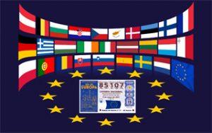 """""""Día de Europa"""" Sorteo Extraordinario lotería 17 El Quijote"""