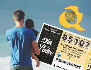 Sorteo Día del Padre 2021 Lotería 17 El Quijote