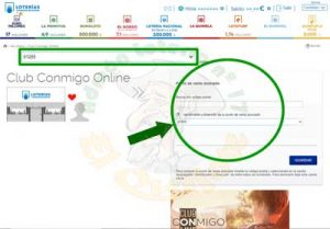 Número Punto de Venta Amigo Club Conmigo Online Lotería 17 El Quijote