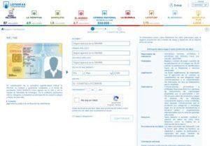 Registro Club Conmigo Online Lotería 17 El Quijote