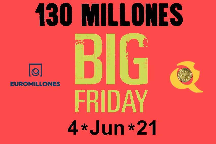 Vuelve Big Friday de Euromillones