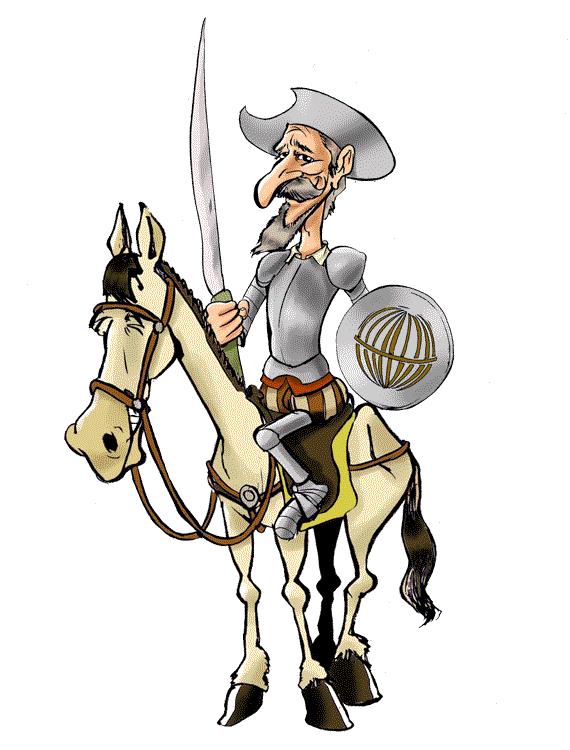 El Quijote a caballo loteriasyapuestas el quijote